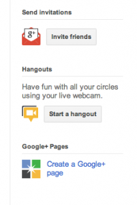 Setup Google Plus For Business Step 1